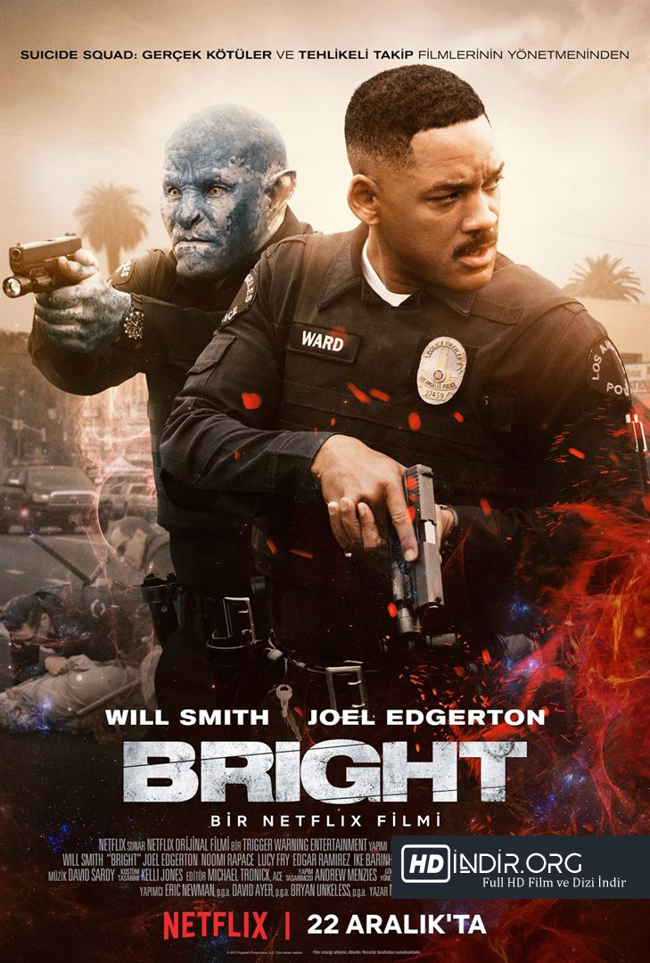 Parlak - Bright indir (2017) Türkçe Dublaj HD İndir