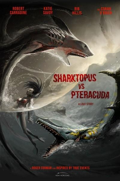 Ahtapot Köpekbalığı 2 – Sharktopus vs Pteracuda 2014 (HDRip – 1080p) Türkçe Dublaj indir