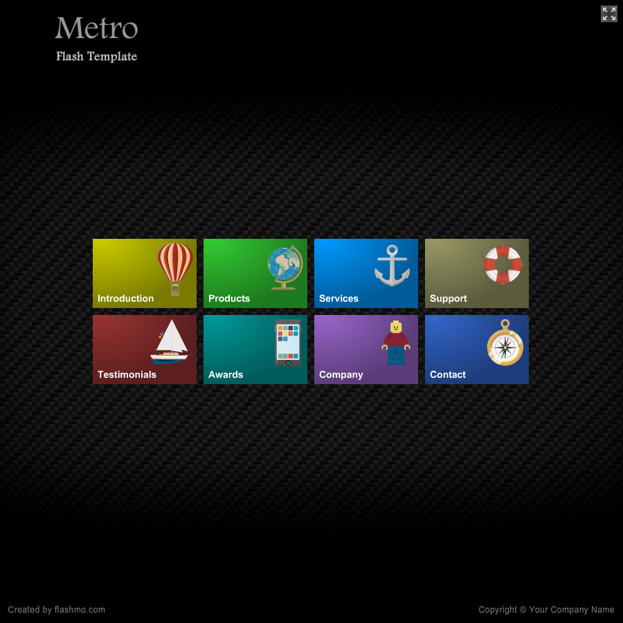 238 Metro Free Template