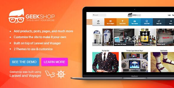 GeekShop v1.0.11 - Alışveriş Sitesi Scripti indir