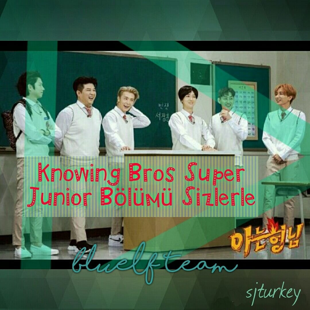 Knowing Brothers 100. Bölüm Türkçe Altyazılı (Super Junior) V9XoEV
