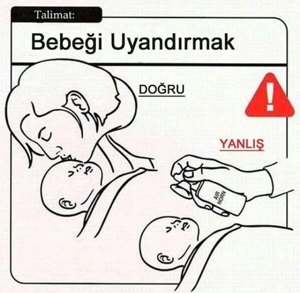 Bebek Bakma Talimatı