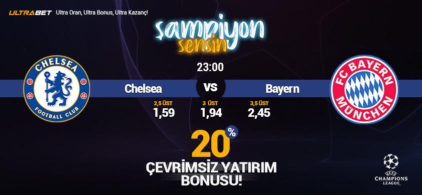 Chelsea - Bayern Münih Canlı Maç İzle