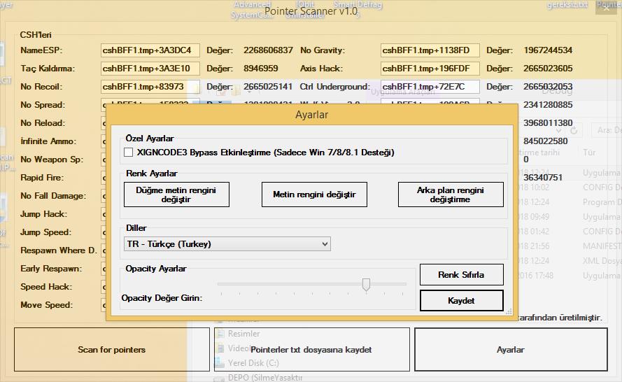 Wolftü Pointer Scanner v1 0 | MemoryHackers