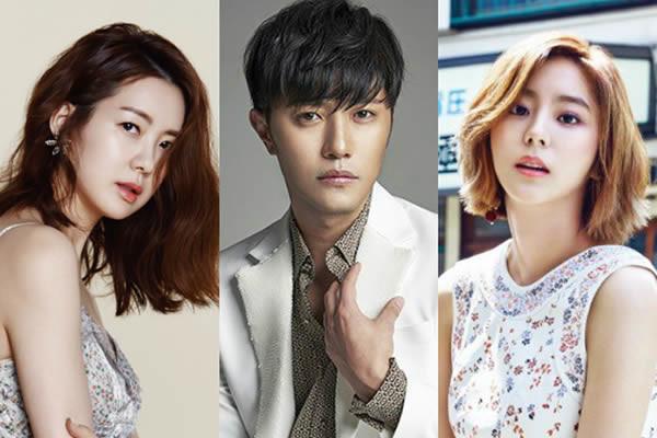 """Jin Goo ve Uee """"Night Light"""" Dizisinin Kadrosuna Katıldı"""