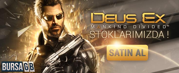 Ucuz Fiyatiyla Deus Ex Mankind Divided cd key Stoklarimizda !