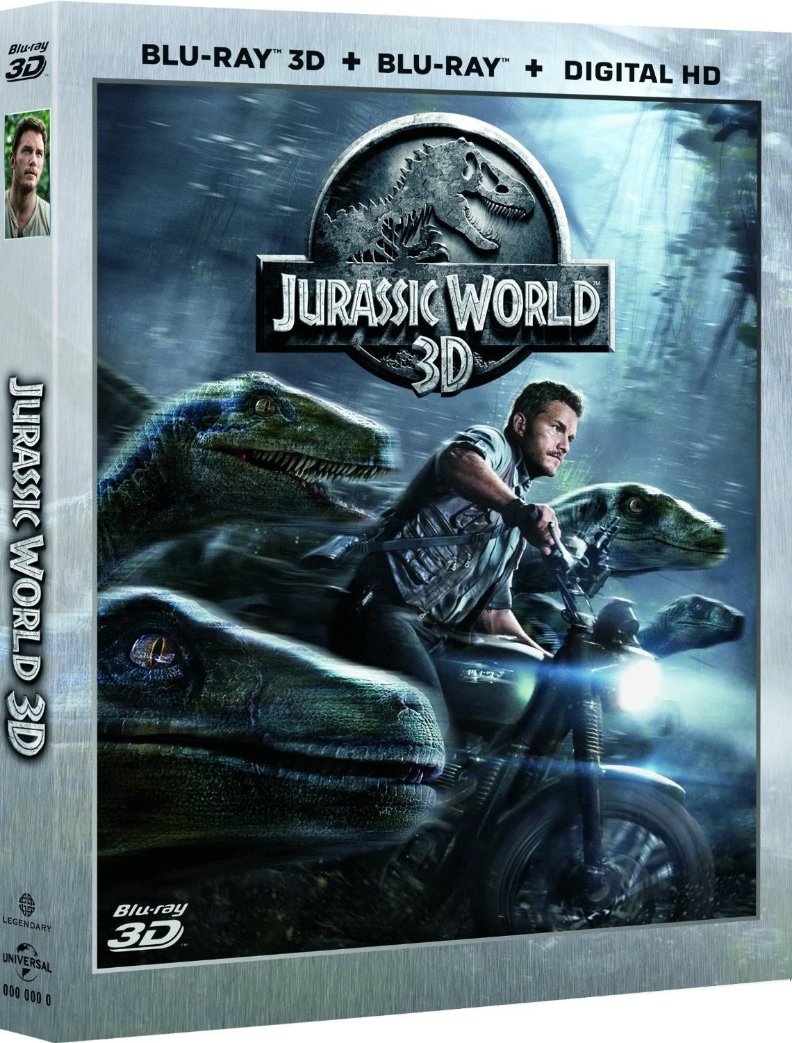 Jurassic World 3D 2015 3D HALF-SBS BluRay 1080p DuaL TR-EN – Tek Link