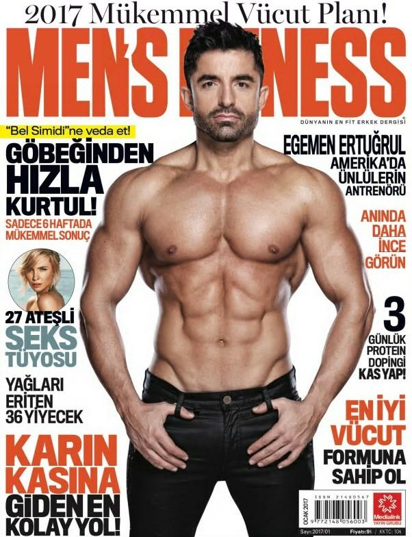 Men's Fitness Ocak 2017