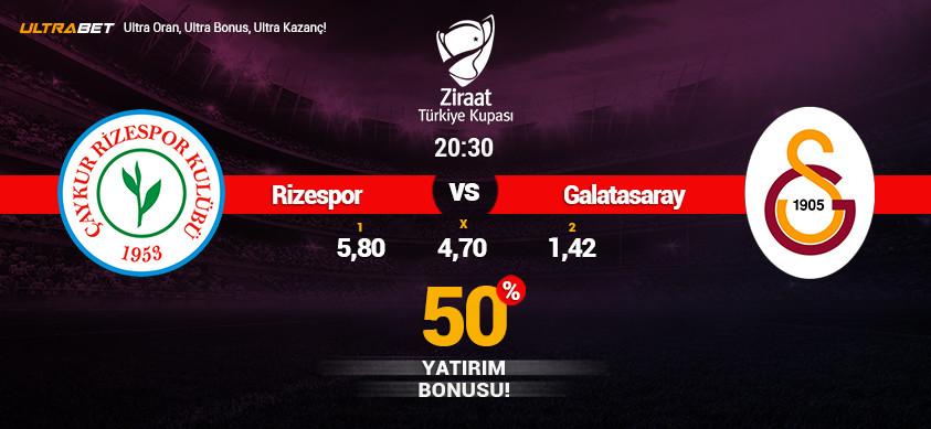 Çaykur Rizespor - Galatasaray Canlı Maç İzle
