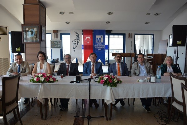 Antalya SMMM Odası Başkanı Emrullah Tayfun Çavdar;