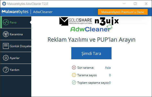 Malwarebytes: AdwCleaner 7.4.1 | Portable