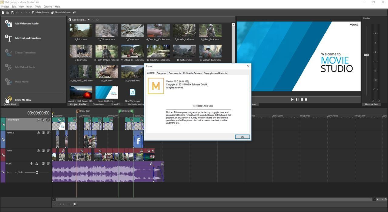 MAGIX: Movie Studio Platinum 16.0.0 Build 142 (x64) | Full