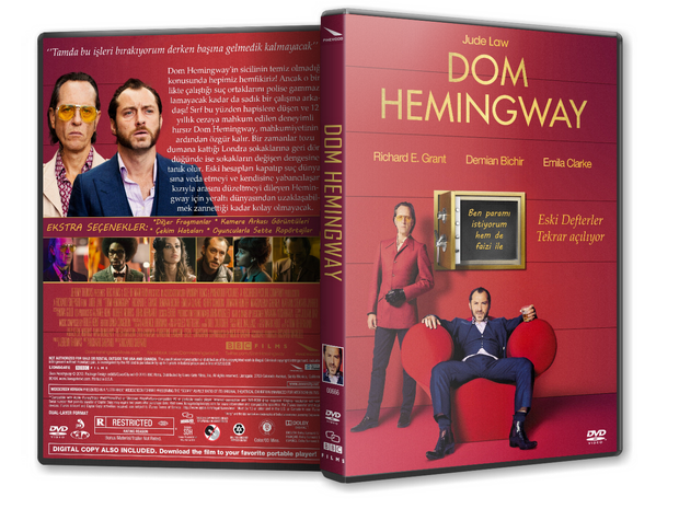 Dom Hemingway 2014 (TR-ENG) DVD-5 tek link Türkçe Dublaj indir