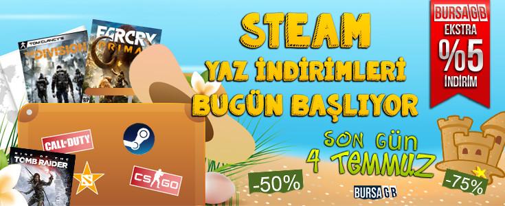 Steam ( Summer Sale ) Yaz Indirimleri Bu Gün Basliyor
