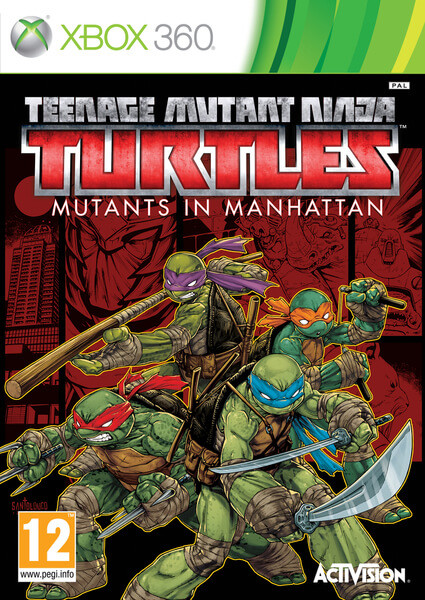Teenage Mutant Ninja Turtles Mutants In Manhattan Xbox 360 Oyun İndir [FULL-ISO] [Region Free]