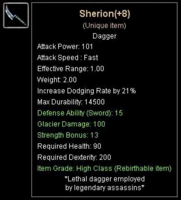 +8 Sherion (NO REB)