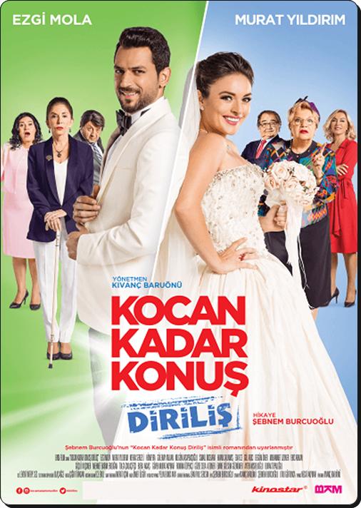 Kocan Kadar Konuş 2: Diriliş 2016 (Yerli Film) DVDRip XviD + Kamera Arkası