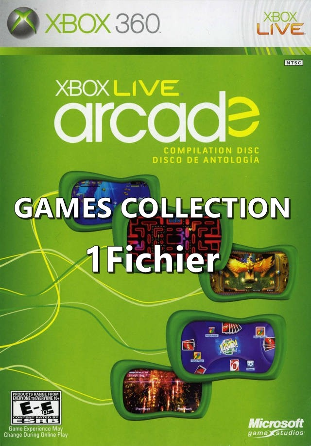 MegaThread XBLA Games Collection [JTAG-RGH] [1Fichier]