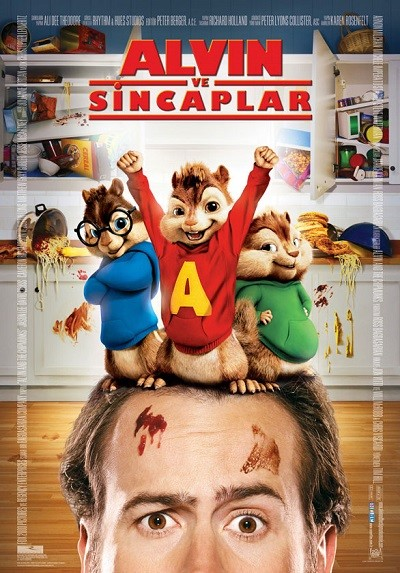 Alvin ve Sincaplar - Alvin and the Chipmunks 2007 BRRip XviD Türkçe Dublaj - Tek Link