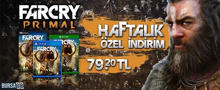 Far Cry Primal Haftalik Özel Indirimi
