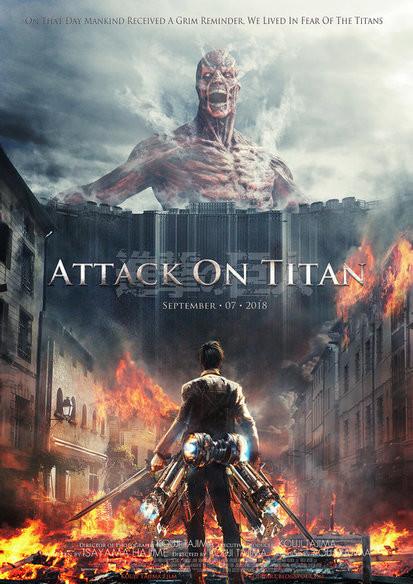 Attack on Titan: Part 1 (2015) - türkçe altyazılı film indir