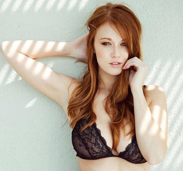 Hot redhead girls strip — pic 15