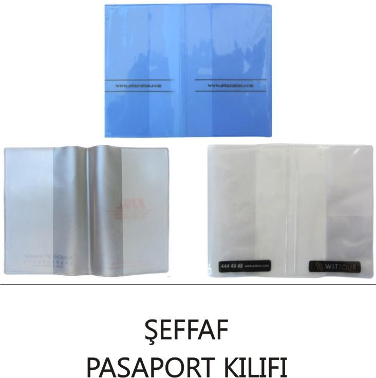 Şeffaf Pasaport Kılıfı