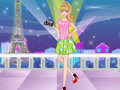 Barbie Pariste Oyunu