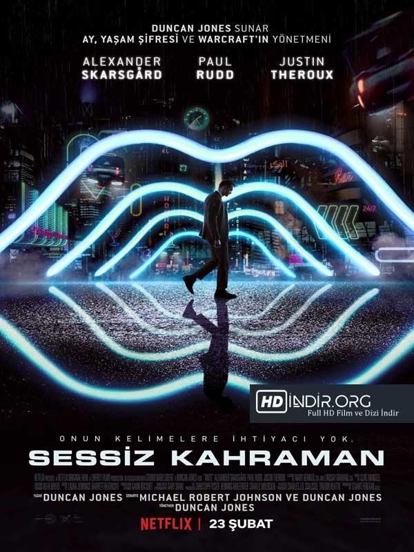 Sessiz Kahraman - Mute indir (2018) Türkçe Dublaj m720p