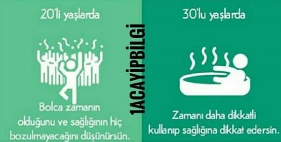 20'li Yaşlar vs 30'lu Yaşlar