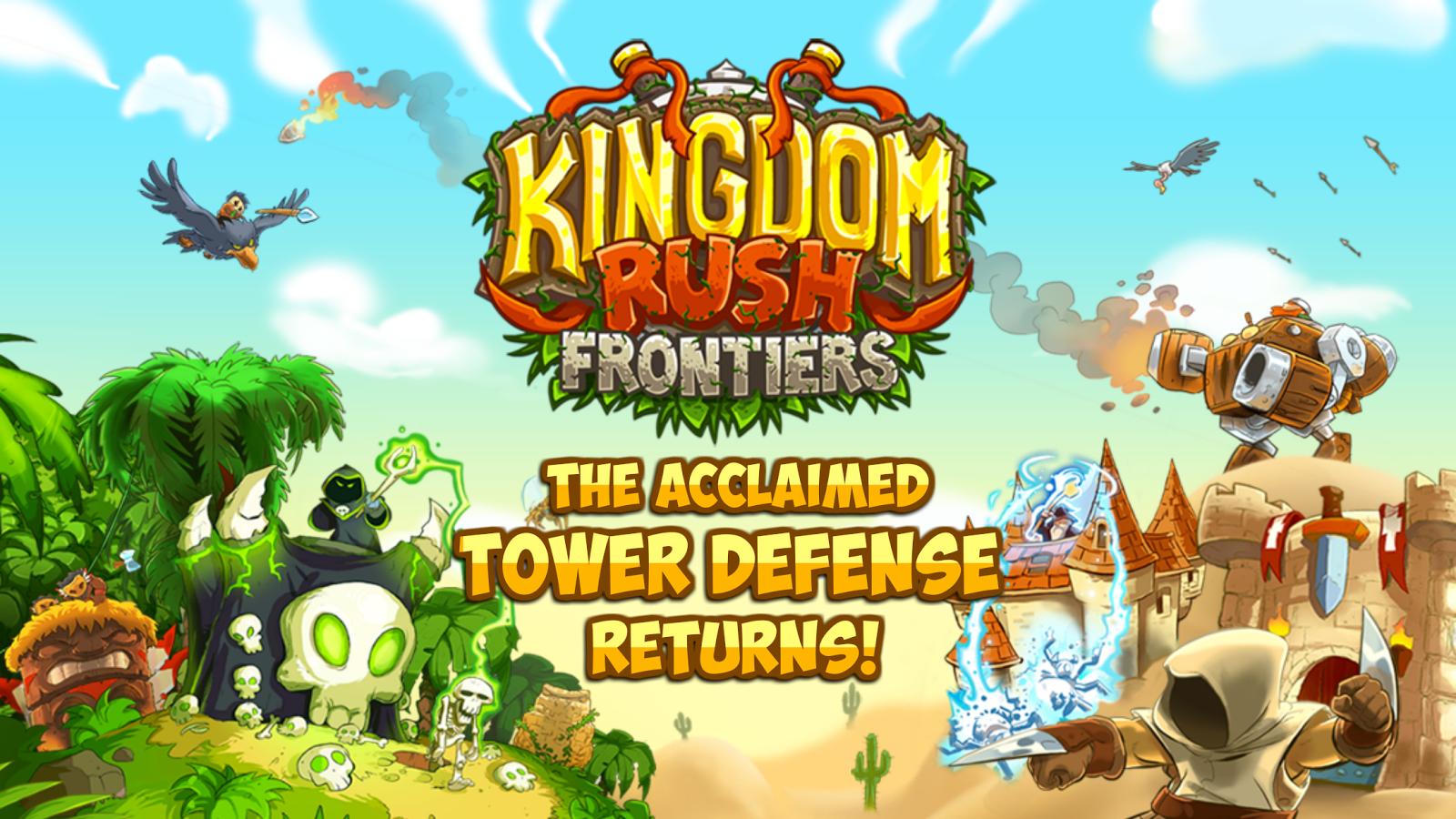 Kingdom Rush Frontiers Apk Oyun