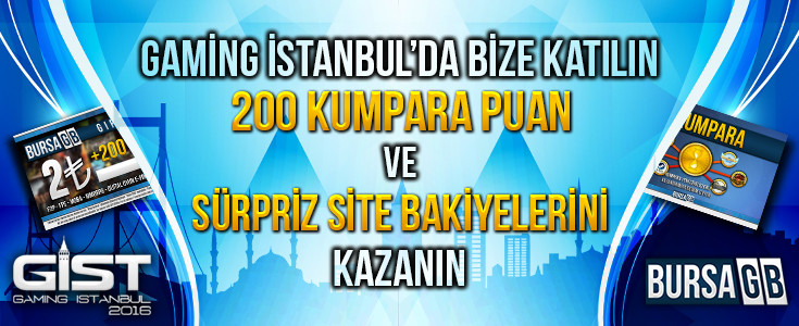 Gaming İstanbul Başlıyor.