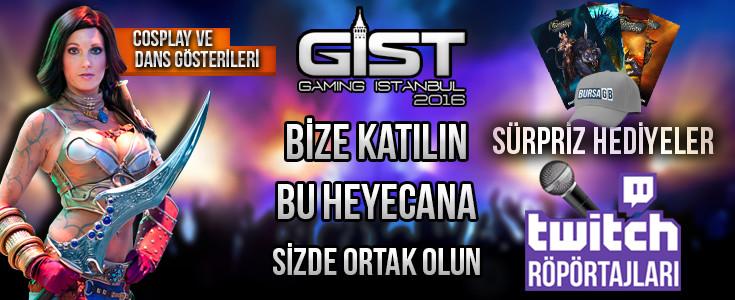 Gaming İstanbul BursaGB Standımıza Bekliyoruz.