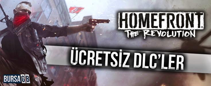 Homefront: The Revolution'un DLC'leri Ücretsiz Olacak