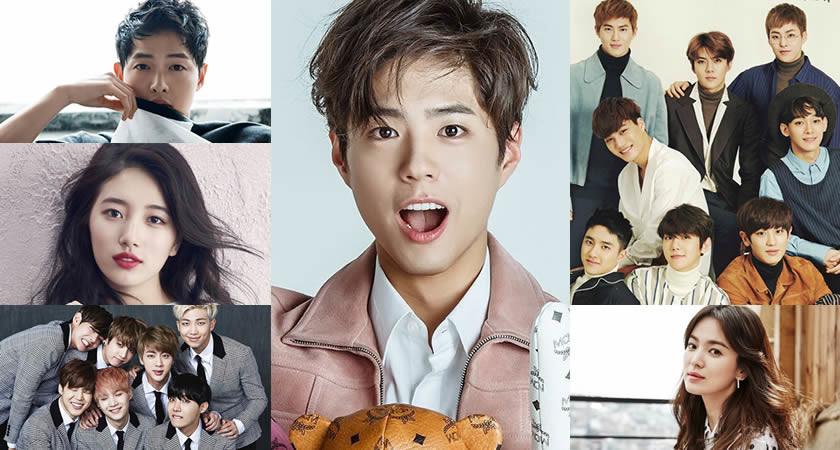 'Korea Power Celebrity' (Koreli En Etkin Ünlüler) Listesi Açıklandı