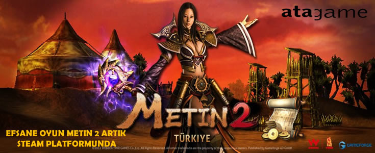 Metin2 Artık Steam Platformunda.!!!