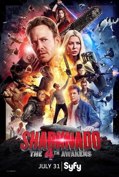 Sharknado 4 : Güç Uyanıyor 2016 BRRip XViD Türkçe Dublaj – Film indir