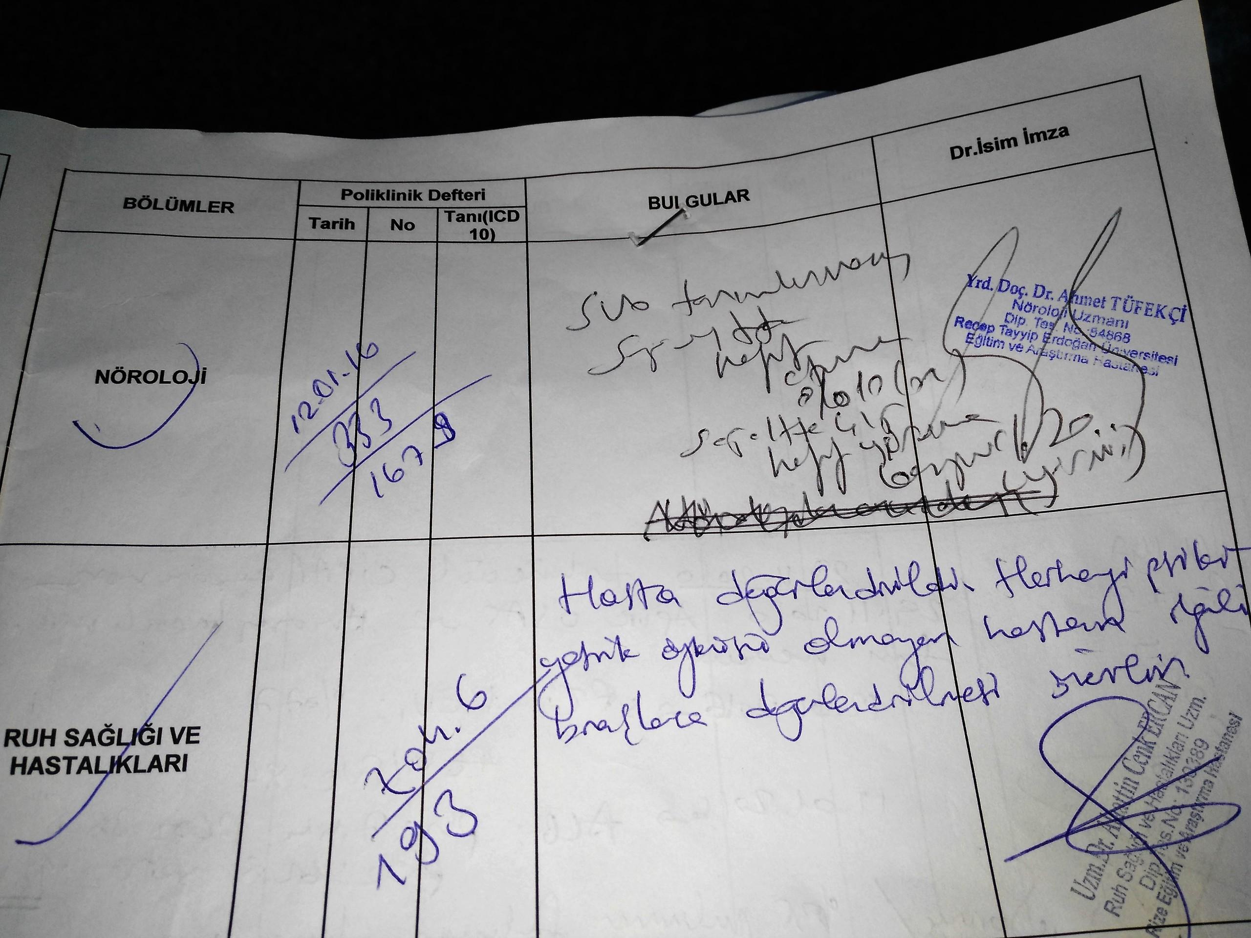 W10BkL - Babamın rahatsızlıklarından dolayı ÖTV indirimi için yeterli oranda rapor..?