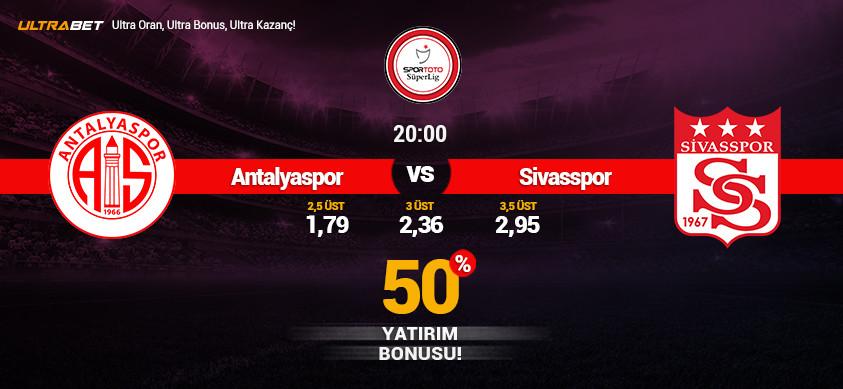 Antalyaspor - Sivasspor Canlı Maç İzle