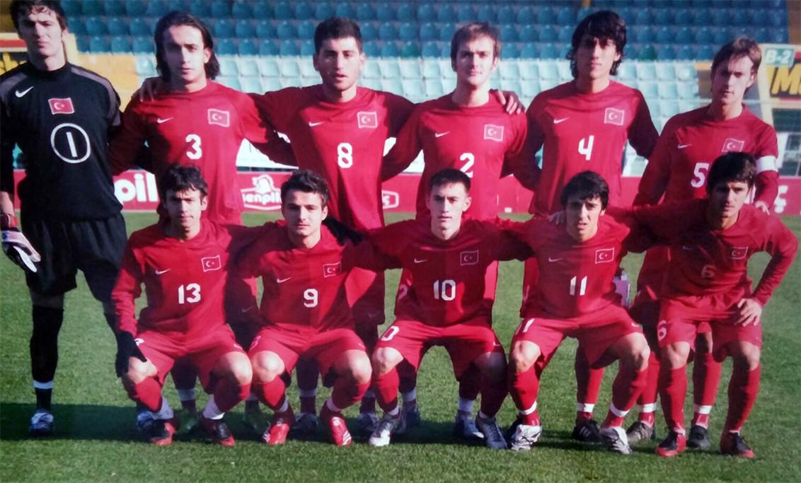 Murat Kayalı U 19 Milli Takım 2008