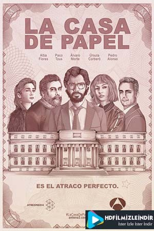 La Casa De Papel 1-2 Sezon Türkçe Altyazı İzle İndir Full HD 720p Tek Parça