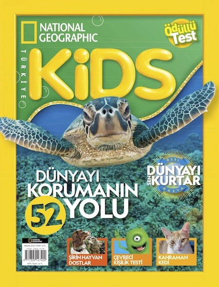 National Geographic Kids Nisan 2018