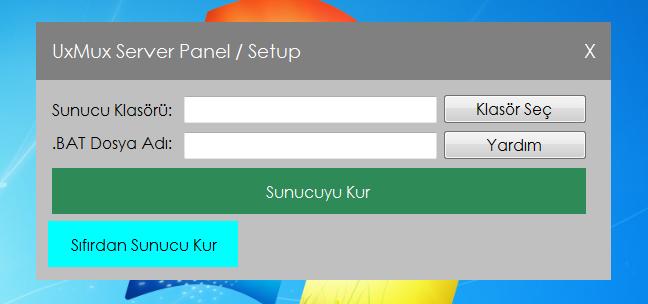 Tanıtım - Minecraft Sunucu Paneli / UxMux Server Control