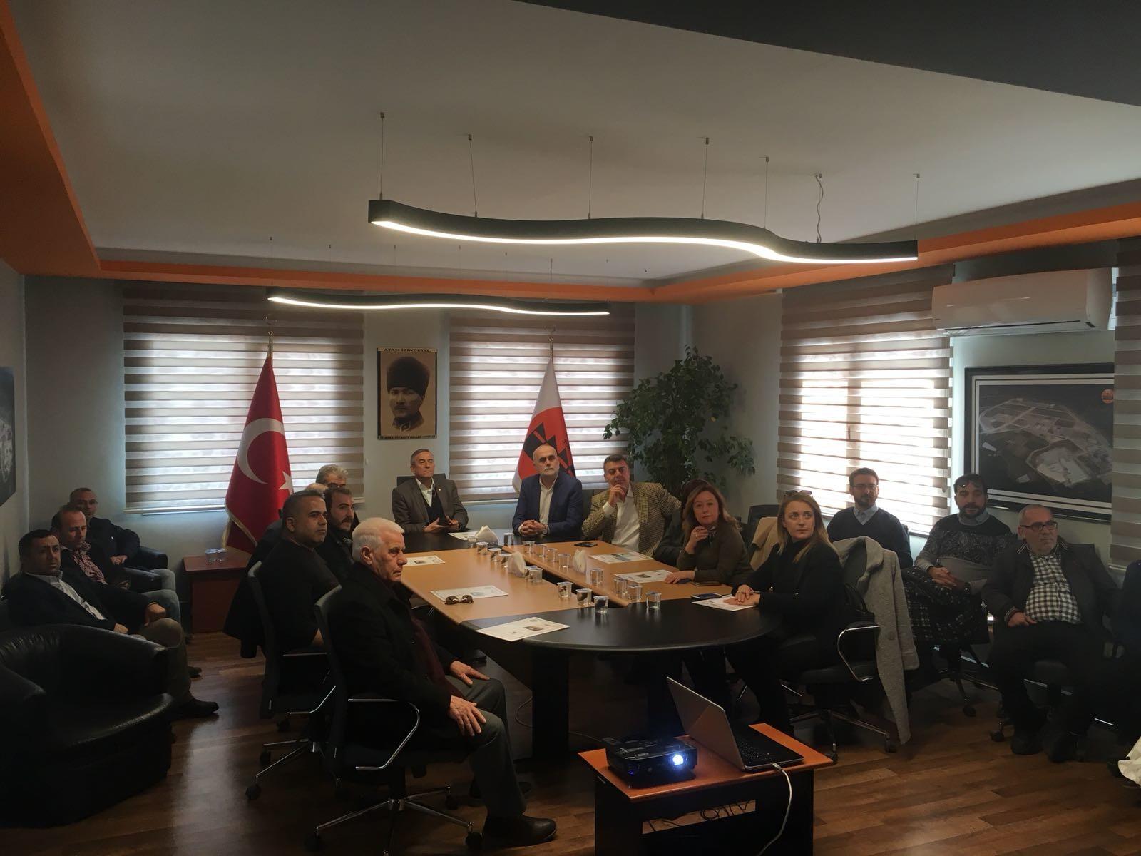 Söke Ticaret Odası Üyeleri Bilgilendirme Toplantısı Gerçekleştirildi