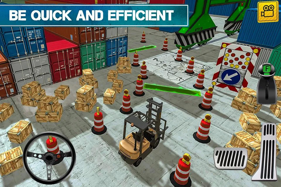 Cargo Crew: Port Truck Driver Android Oyun