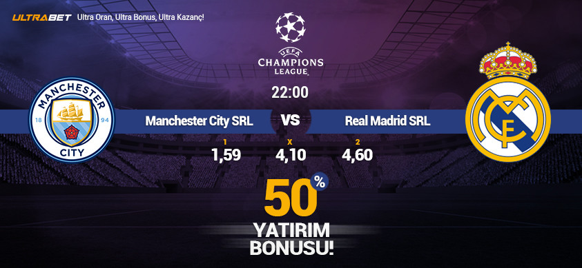 M. City - Real Madrid Simülasyon Maçı