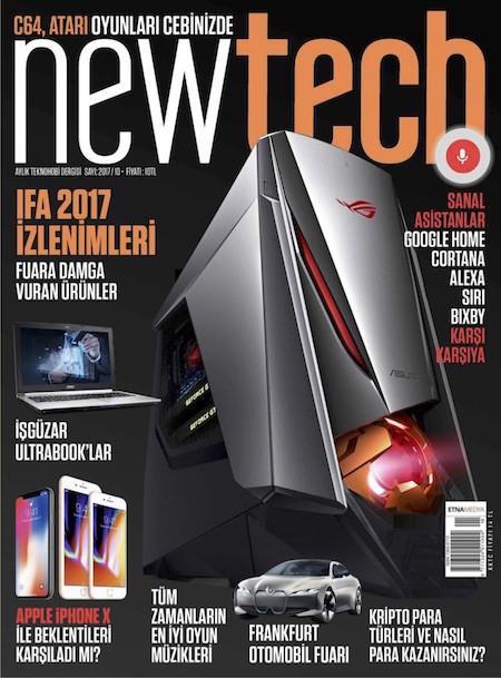 Newtech Ekim 2017