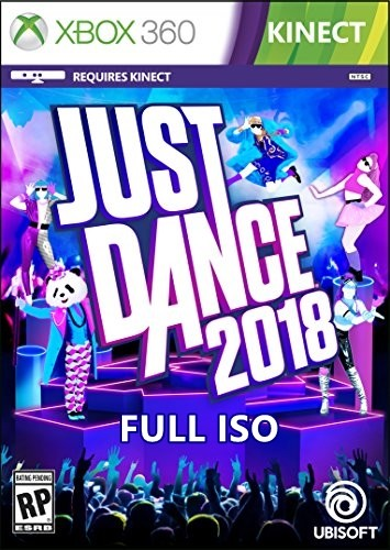 Just Dance 2018 Xbox 360 Oyun İndir [MEGA] [FULL-ISO] [Kinect-PAL]