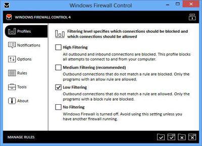 Windows Firewall Control 5.0.1.19 Multilingual Full İndir