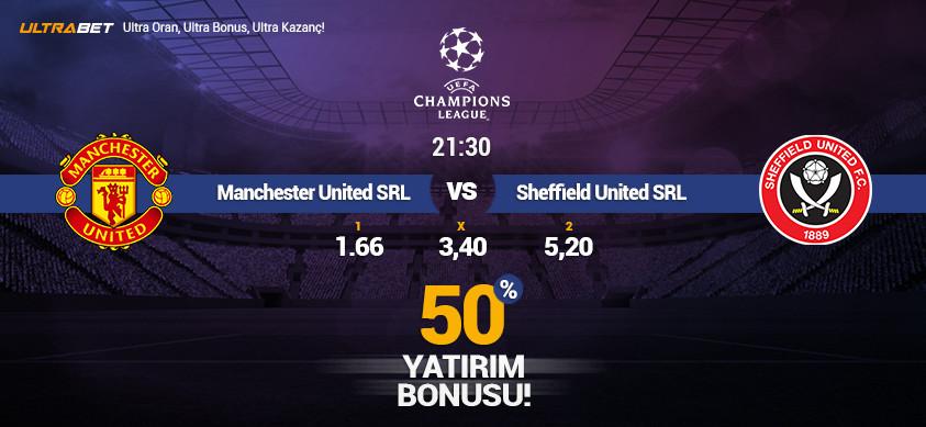 Manchester United - Sheffield United Simülasyon Maçı